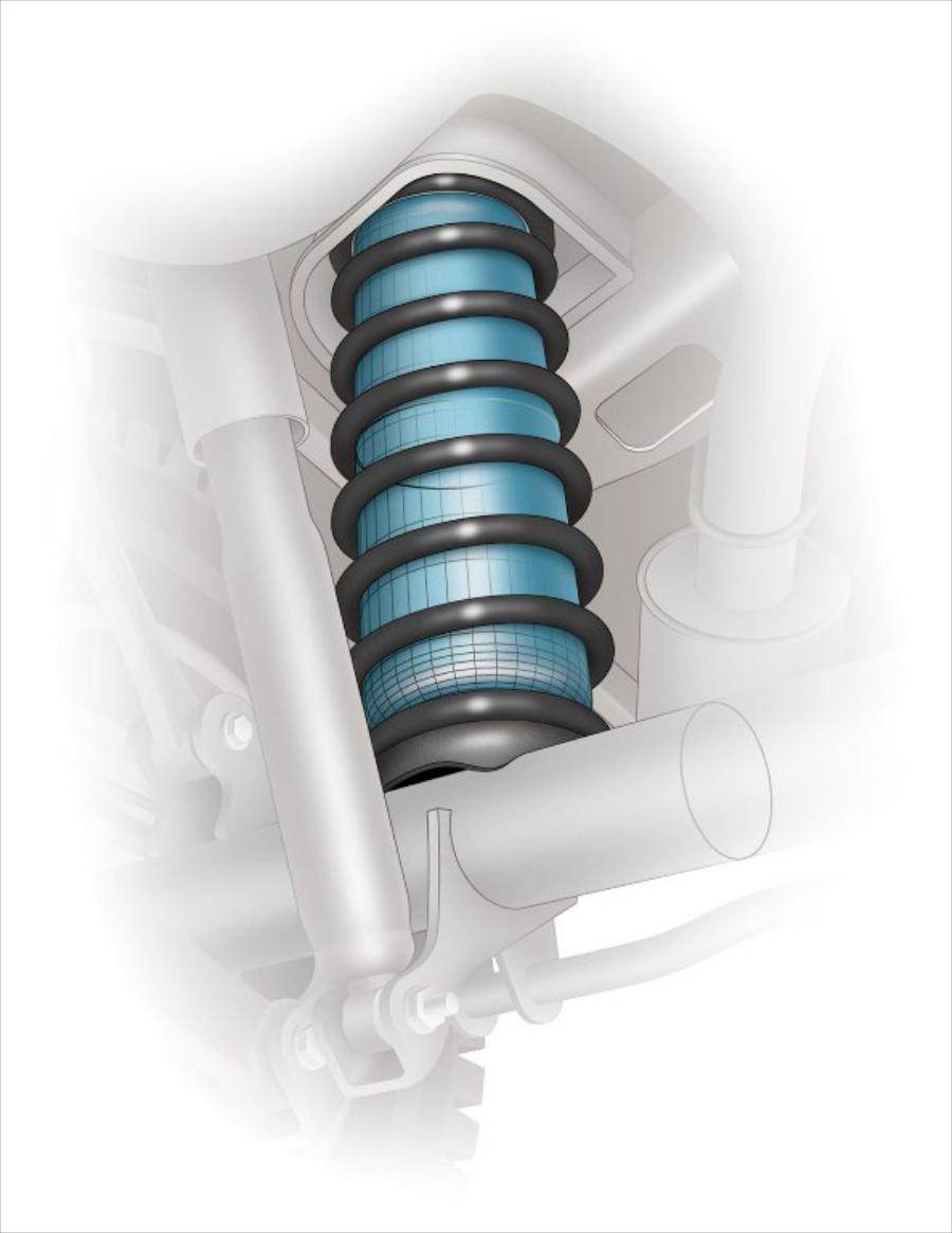 Image for Semi Air Suspension Kits Coil DR.01.014114