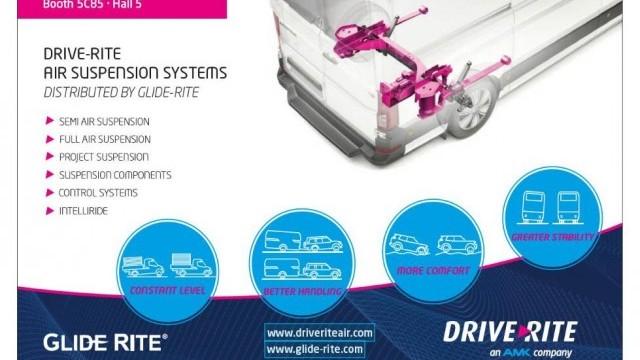 2019 Commercial Vehicle Show DriveRite Air Suspension